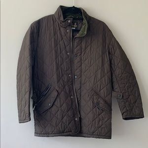 Men's Barbour Quilted Jacket brown!